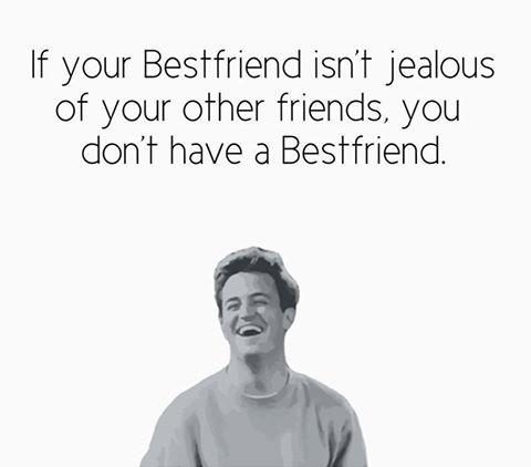 Jealous best friend