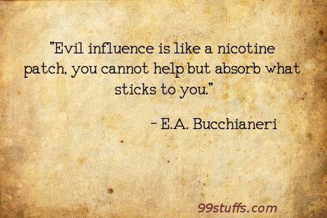 bad,catholic,christian,drugs,evil,funny,gadfly,humor,humour,influence,influences,nicotine