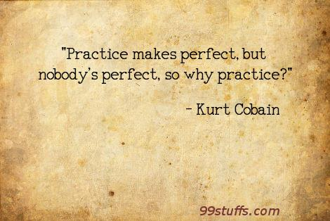cobain,humor,kurt,nirvana,perfect,practic