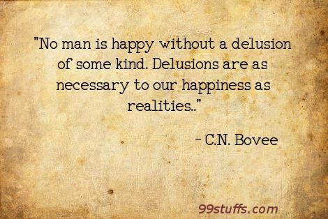 delusions,happiness