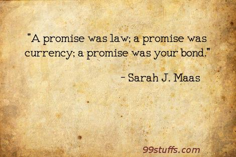 promises,relationships