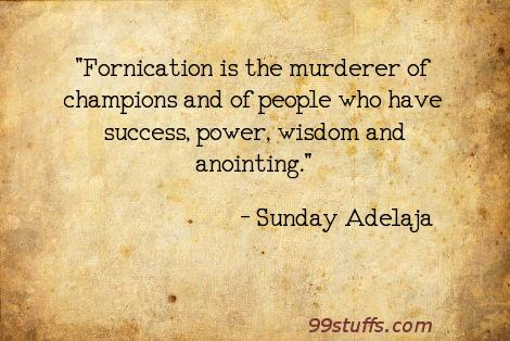 anointing,champions,fornication,murderer,people,success