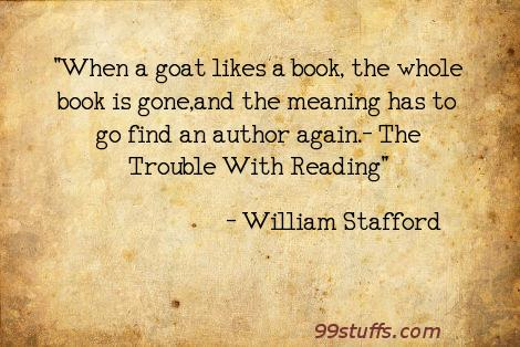 books,goats,reading