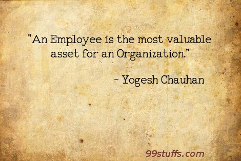 most valuable asset in an organization