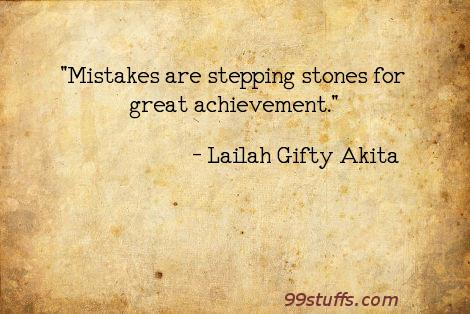 achieve,advice,failures,inspiring,learner,mistakes,positive,success