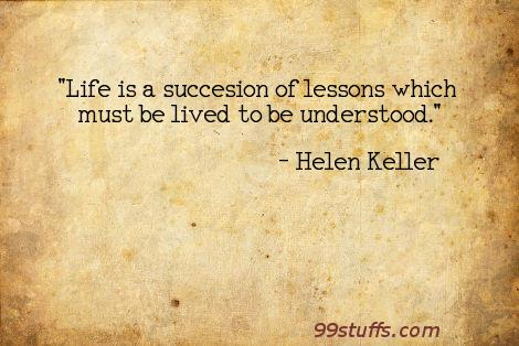lessons,life