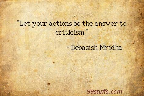 actions,criticism,inspirational,philosophy,quotes