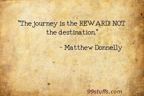 journey,reward,success
