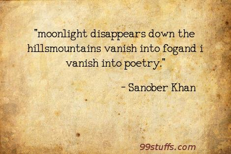 alone,fog,hills,moonlight,mountains,poems,poetry,solitude,vanish