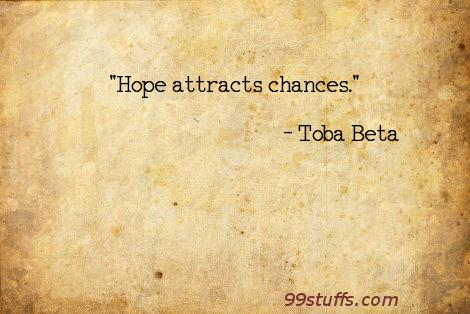 attract,chances,hope