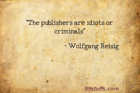 criminals,idiots,publishers,science