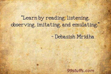 education,emulating,imitating,inspirational,listening,observing,philosophy,quotes