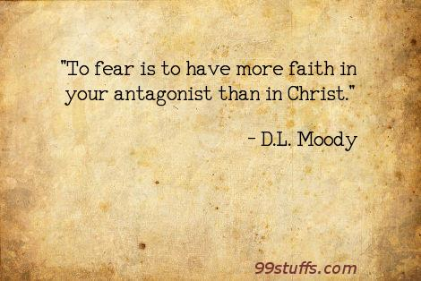 faith,fear