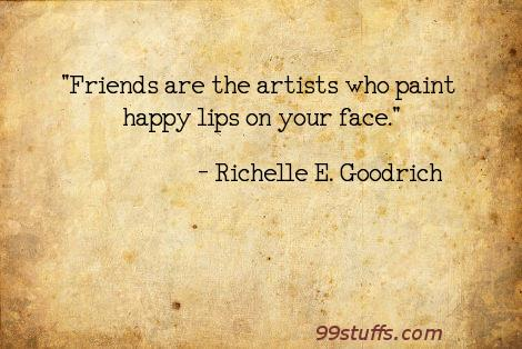 artists,friends,friendship,happiness,happy,kindness,richelle