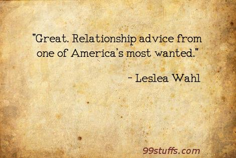 great relationship advice