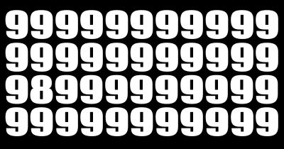 Can you find 8's in 8 images under 88 seconds?