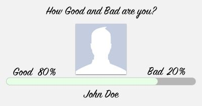 How Good and Bad are you?