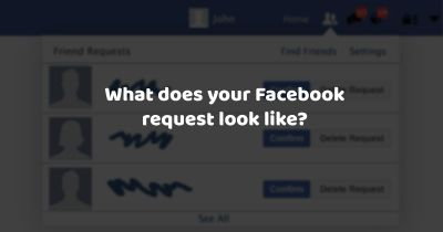 What does your facebook request look like?