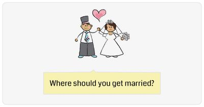 Where should you get married?