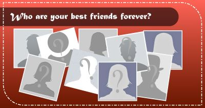 Which 10 friends are your BFFs?
