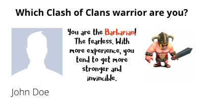 Which Clash of Clans warrior are you?