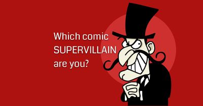 Which comic supervillain are you?