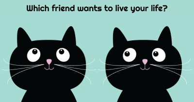 Which friend wants to live your life?