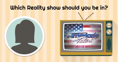 Which Reality show suits your personality?