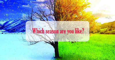 Which season are you like?
