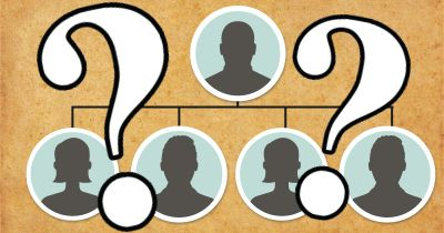 Who do you share a common ancestor with?