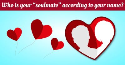 "Who is your ""soulmate"" according to your name?"