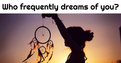 Who often has dreams about you these days?