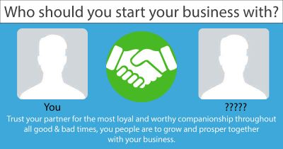 Who should you start your business with?