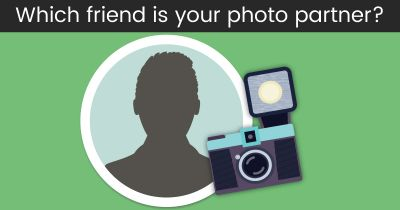 Who should you take pictures with?