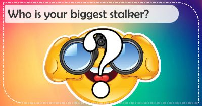 Who is your biggest stalker?