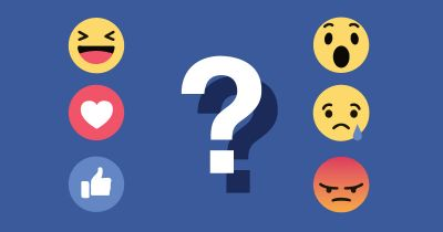 Your friends in Facebook Reactions.